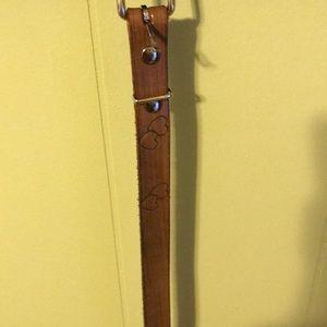 Handmade toddler belt
